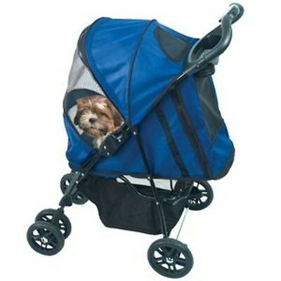 Pet Gear Happy Trails Pet Stroller for cats and dogs, PG8100ST Cobalt Blue NEW
