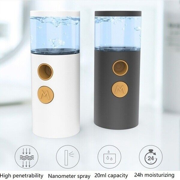 Facial Humidifier Instant Cool Portable Water Steamer Mini