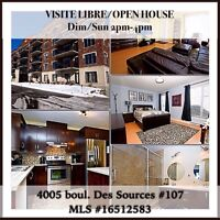 OPEN HOUSE FOR WEST ISLAND CONDO