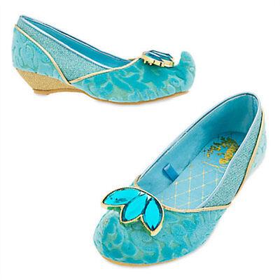 Disney Princess Jasmine Shoes (NWT Disney Store Princess Jasmine Costume Shoes Aladdin)