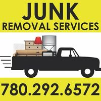 JUNK REMOVAL SERVICES - 780-292-6572 - SMALL HAULERS