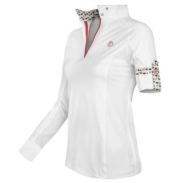 Kathryn Lily Pro Air2 Childs Show Shirt - Horse Show Emoji