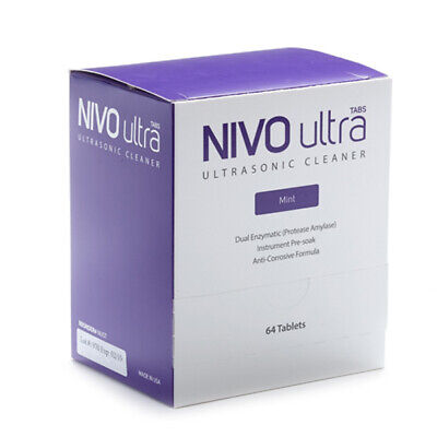 Nivo Ultrasonic Cleaning Solution Tablets 64pk