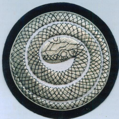 Secret Pagan Occult Snake Ouroboros Hermetic Gnostic Magic Soul Priest Patch AO