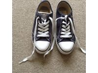 WOMANS CANVAS TRAINERS