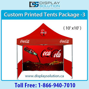Folding Popup Canopy Tent with Aluminum Frame at Mississauga