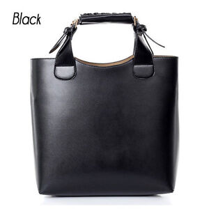 Ladies Celebrity Vintage PU Leather Hobo Shoulder Tote Retro Handbag large Bag
