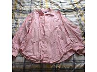 Light baby pink Ralph Lauren shirt Unisex Medium
