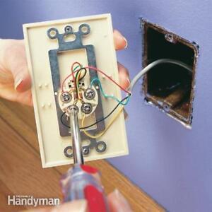 Phone Jack - Telephone wiring repair $30.00