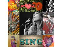 Time to SING! SINGING LESSONS FOR £30/Hour