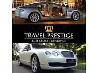 Wedding Chauffeur Car Hire, Bentley. Events/Proms/Airport