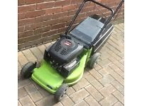 Champion petrol lawnmower Selfpropelled