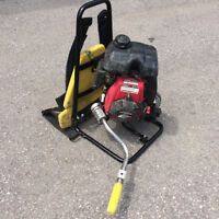 Used -  Gas Powered Backpack Concrete Vibrator (Multiquip BP50A)