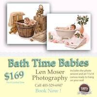 Baby Photography - Bath Time Babies