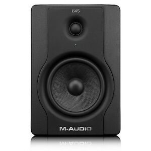 m audio bx5 d2 active powered studio monitor music production dj speaker single ebay. Black Bedroom Furniture Sets. Home Design Ideas