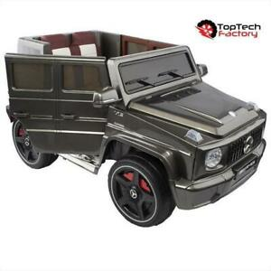 Mercedes G65 Kids Ride On Toy Car | Remote Control | 12V Battery, MP3 Player, & Leather Seat  | Free Shipping & Pick up