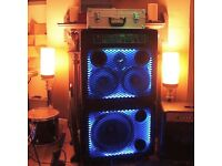 Trace Elliot 300 watt bass amp / cab / rig