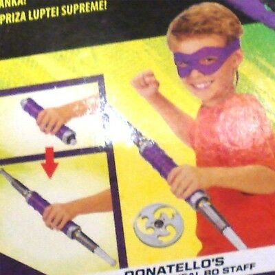 Ninja Turtles Movie II Donatello Rollenspielset Kostüm-Set Neu OVP