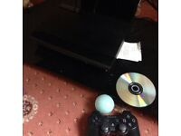 Ps3 super slim 500gb with games swap px