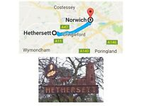 Room in Hethersett Norwich (bills, parking & cleaning included)