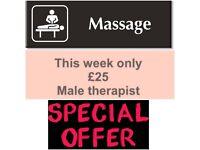 FULL BODY MASSAGE - Male masseur