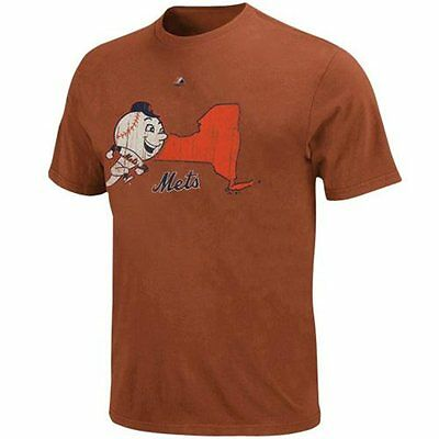 MLB Baseball T-Shirt NEW YORK NY METS - Cooperstown Double Lead Pigment Dyed
