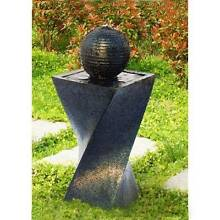 Solar Powered Water Fountain with LED Twist Design Minchinbury Blacktown Area Preview