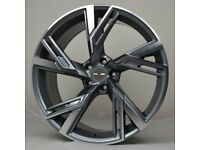"""20"""" RS6-20 Alloy Wheels will fit Audi A4, A5, A6 etc"""