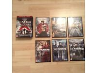 X-Men and the Volverine adamantium Collection 6 DVD Boxed Set