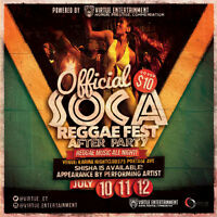 OFFICIAL SOCA  REGGAE FEST AFTER PARTY!!!