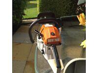 Petrol. Chain saw