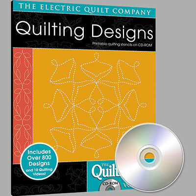 Electric Quilt Quiltmaker Quilting Designs Volume 5 Softw...