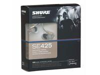 Shure SE425 earphones headphones earbuds sennheiser bose