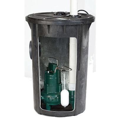 Zoeller 912-0007 - 410 Hp Cast Iron Preassembled Sewage Pump System 2