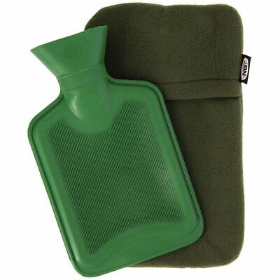 NGT Hot Water Bottle | 1L Capacity with Fleece Lined Casing | Free UK Delivery