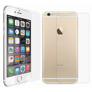 IPHONE 5, 5S, 6 & 6 PLUS CLEAR SCREEN PROTECTOR FOR FRONT & BACK Regina Regina Area image 1