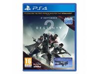 Destiny 2 - PS4 - Brand New Sealed