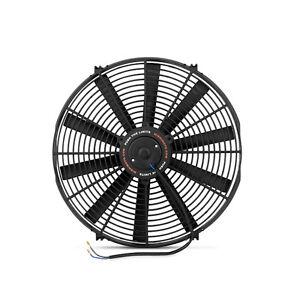 """Mishimoto Slim Electric Fan 16"""" Black 12v - European Union, Polska - Zwroty są przyjmowane - European Union, Polska"""