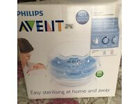 Avent Philips Microwave steam steriliser