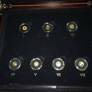 The Smallest Gold Coins Of The World Collection Metal: .9999 Gold Nowra Nowra-Bomaderry Preview