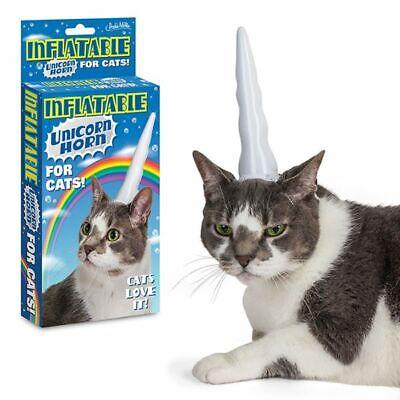 Unicorn Cat - Inflatable Horn
