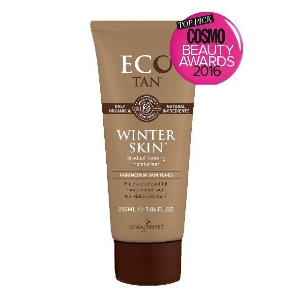 Eco Tan Organic Winter Skin Tan - Self Tan (200ml) Fair skin Sunless Tanning