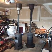 Large propane patio heater for sale