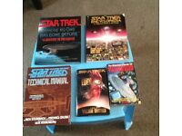 Collection of Star Trek books