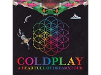 2 coldplay tickets dublin.
