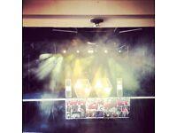 Dj lights front display disco/Dj lights and chaser box