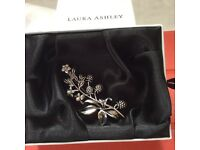 Laura Ashley Bramble Broach limited edition