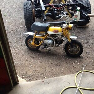 WANTED HONDA MINIBIKE!! Have cash