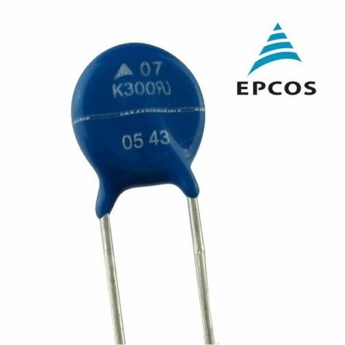 Lot of (50) TDK EPCOS SIOV-S07K300 470V Varistor, MOV, 300VAC, 1200A