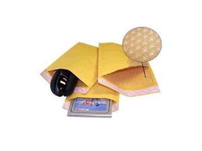 1000 #0 Kraft Bubble Mailers Padded Envelopes 6.5X10 Bubble Pak Expedited SHIP
